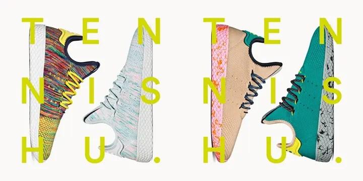 【速報】国内7/28発売!Pharrell Williams x adidas Originals Human Tennis 4カラー (ファレル・ウィリアムス アディダス オリジナルス ヒューマン テニス) [BY2671,2672,2673,CQ1872]