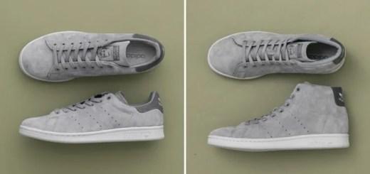 """国内セレショはアーバンリサーチのみ!adidas Originals STAN SMITH """"Mat Grey Suede"""" 2モデルが8月下旬発売 (アディダス オリジナルス スタンスミス """"マット グレー スエード"""")"""