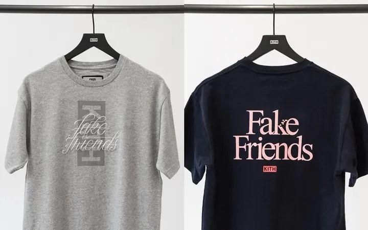 KITH CLASSIC LOGO TEE 新たに追加された第7弾!「Fake Friends Tee」6モデルが7/24発売予定! (キース)