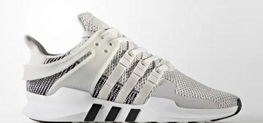 """8月発売!アディダス オリジナルス エキップメント サポート ADV """"ホワイト/グレー ワン"""" (adidas Originals EQT SUPPORT ADV """"White/Grey One"""") [BY9582]"""