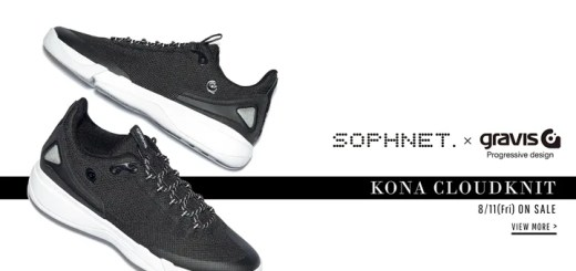SOPHNET. × gravis KONA CLOUDKNITが8/11発売 (ソフネット グラビス コナ クラウドニット)