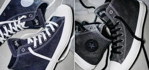 "STUSSY × CONVERSE ""Pigment Dyed"" ALL STAR 100 HIが8/11発売 (ステューシー コンバース ""ピグメント ダイド"" オールスター ハイ)"
