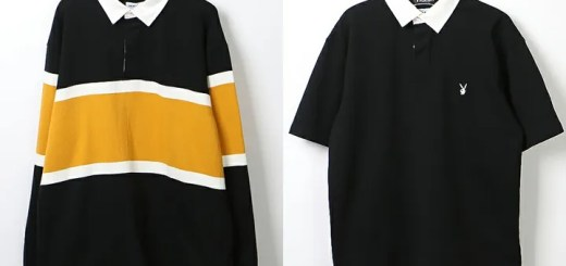 PLAYBOY × FREAK'S STORE 別注 ラガーシャツ 2モデルが発売 (プレイボーイ フリークスストア)