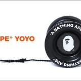 A BATHING APEよりブランドネームとエイプヘッドがデザインされたバタフライ型のヨーヨーが8/19発売! (ア ベイシング エイプ)
