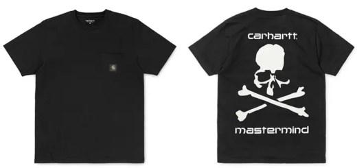 8/19発売!mastermind JAPAN x Carhartt コラボTEE (マスターマインド ジャパン カーハート)