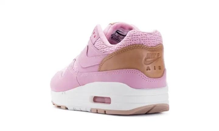"""ナイキ ウィメンズ エア マックス 1 プレミアム """"ピンク グレイズ"""" (NIKE WMNS AIR MAX 1 PREMIUM """"Pink Glaze"""") [454746-601]"""