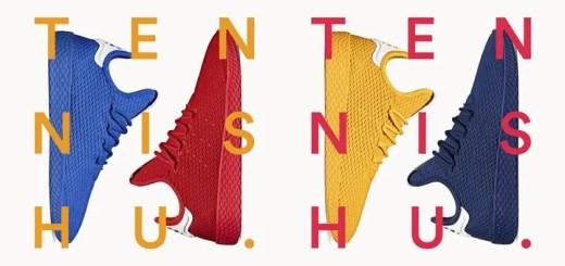 """国内9/9発売!Pharrell Williams x adidas Originals Human Race Tennis HU """"Solids"""" (ファレル・ウィリアムス アディダス オリジナルス ヒューマン レース テニス) [BY8719,8720][CP9766,9767]"""