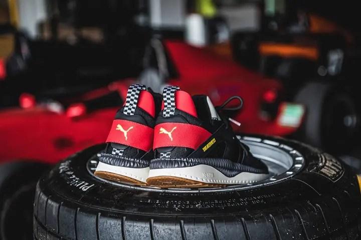 "F1からインスパイア!PUMA × Sneakerness TSUGI BLAZE ""Sneakerness Race Club Pack"" (プーマ スニーカーネス ツギ ブレイズ ""スニーカーネス レース クラブ パック"")"