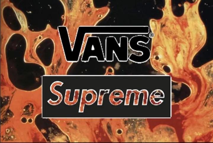"""【リーク】SUPREME (シュプリーム) × VANS (バンズ) """"Blood and Semen""""!?"""