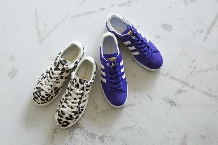 adidas Originals for BEAUTY&YOUTH 別注 CAMPUS パープル/レオパードが10月上旬発売 (アディダス オリジナルス フォー ビューティアンドユース)
