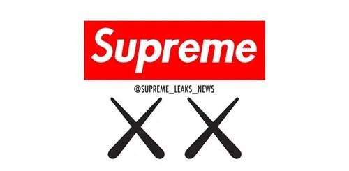 SUPREME 2017 F/W × KAWS コラボが登場か!?カウズサイトにシュプリーム BOX LOGが!