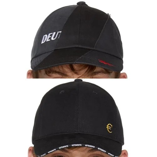 "VETEMENTS 2017-2018 F/W ""EUR Cap/Genetically Modified Cap"" (ヴェトモン)"