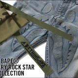 A BATHING APEからROCK STARをテーマにミリタリー要素を取り入れたコレクション「MILITARY ROCK STAR COLLECTION」が9/23発売! (ア ベイシング エイプ)