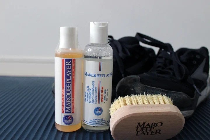 【PR レビュー】MARQUEE PLAYER (マーキープレイヤー) クリーナー 「RSNEAKER CLEANER NUMBER NO.9/10 120ml」