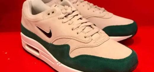 """ナイキ エア マックス 1 プレミアム SC ジュエル """"グリーン/ホワイト"""" (NIKE AIR MAX 1 PREMIUM SC Jewel """"Green/White"""") [918354-003]"""