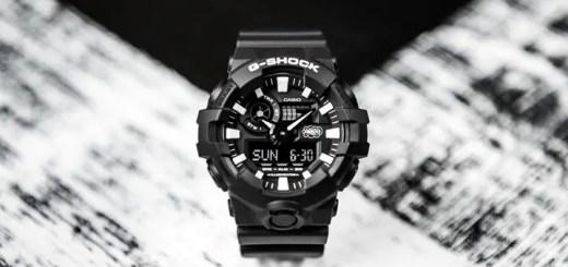 G-SHOCK誕生35周年記念コラボ!G-SHOCK × ERIC HAZE「GA-700EH-1AJR」が10月発売 (Gショック ジーショック エリック・ヘイズ)