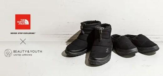 BEAUTY&YOUTH 別注!THE NORTH FACE とブラックをまとった別注ブーツ 2型が11月下旬発売 (ビューティアンドユース ザ・ノース・フェイス ヌプシブーティー)