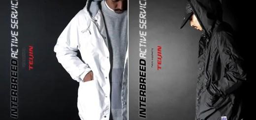 "INTERBREEDからTEIJIN開発の機能素材を全面使用した""Hooded Coach Jacket""が発売 (インターブリード テイジン)"