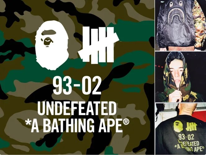 【速報】UNDEFEATED × A BATHING APE 2017 F/W コラボが発表! (アンディフィーテッド エイプ)