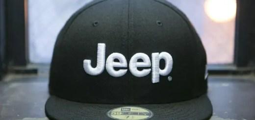 Jeep × New Eraがコラボ!フロントに立体的な刺繍でロゴを配した59FIFTY 2モデル!カモフラバイザーは限定販売 (ジープ ニューエラ)
