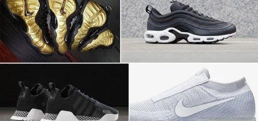 "【まとめ】10/19発売の厳選スニーカー!(NIKE AIR VAPORMAX LACELESS)(AIR FOAMPOSITE PRO ""Metallic Gold"")(NIKE AIR MAX 97 PLUS)(adidas Originals AF1.4 PRIMEKNIT {PK})他"