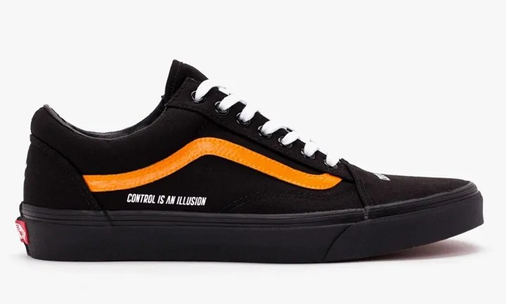 """Coutié x VANS OLD SKOOL """"CONTROL IS AN ILLUSION"""" (クーティー バンズ オールドスクール """"コントロール イズ アン イリュージョン"""")"""