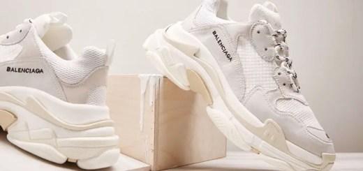 "BALENCIAGA Triple-s ""White/Cream"" (バレンシアガ トリプル ソール ""ホワイトクリーム"")"