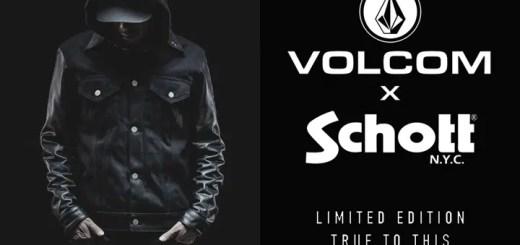 日本120着限定!11/1からVOLCOM x Schott TTT Jacketが発売 (ボルコム ショット)