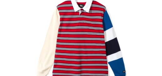 "STUSSY 2017 HOLIDAY ""Mix Up L/SL Rugby"" (ステューシー 2017年 ホリデー)"