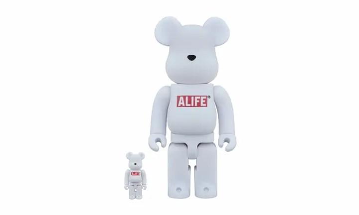 起毛のBE@RBRICK × ALIFE 100% & 400% セットが12月発売 (ベアブリック エーライフ)
