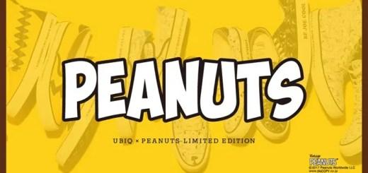 チャーリーブラウンのトレードカラーストライプや、VINTAGE PEANUTSのSURFアートワークが落とし込まれたUBIQ x PEANUTSコラボが11月下旬発売 (ユービック ピーナッツ ホッジ ファティマ)