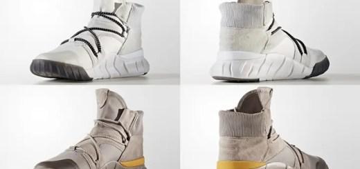 """11月発売予定!アディダス オリジナルス チュブラー エックス 2.0 """"クリスタル ホワイト/ヴェイパー グレー"""" (adidas Originals TUBULAR X 2.0 """"Crystal White/Vapour Grey"""") [BY3619,3620]"""