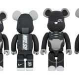11/24発売!BE@RBRICK NIKE SB BLACK 100% & 400% / 1000% (ベアブリック ナイキ)