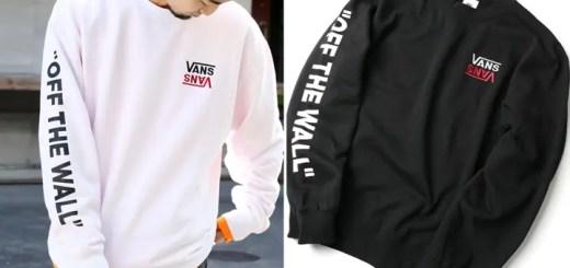 袖に「OFF THE WALL」プリント!VANS × FREAK'S STORE 別注!リバースロゴ 袖プリント クルーネックスウェットが2月上旬発売 (バンズ フリークスストア)