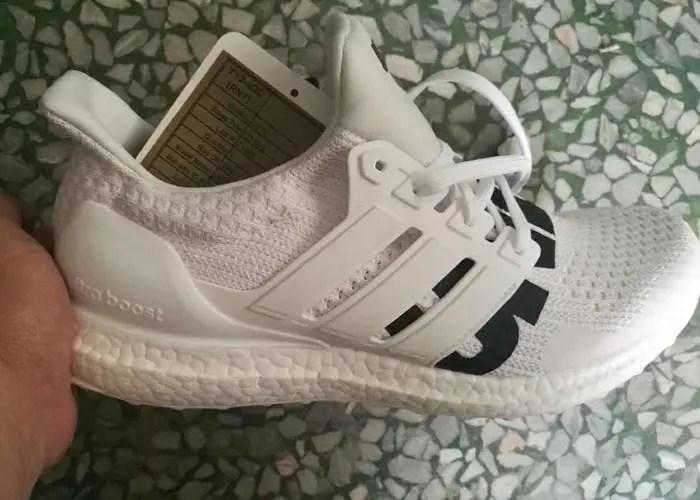 """【リーク/サンプル】UNDEFEATED x adidas ULTRA BOOST """"White"""" (アンディフィーテッド アディダス ウルトラ ブースト """"ホワイト"""")"""