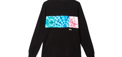 "STUSSY 2017 HOLIDAY ""Tie Dye Block L/SL TEE"" (ステューシー 2017年 ホリデー)"