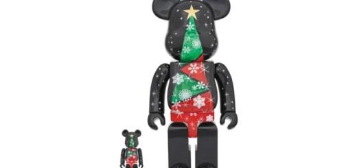 ステンドグラス クリスマスツリーをイメージしたBE@RBRICK 第二弾!2017年 XMASが11月発売! (ベアブリック)