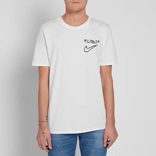 NIKE × OFF-WHITE C/O VIRGIL ABLOH LOGO TEE (ナイキ オフホワイト ロゴ TEE)