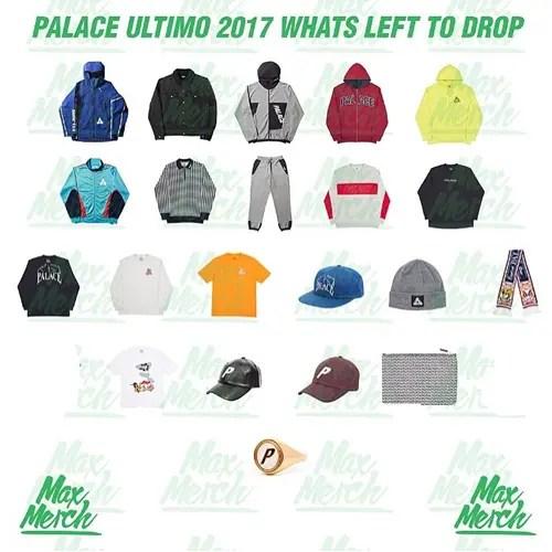 12/8発売予定!Palace Skateboards Ultimo 2017 2nd DROP (パレス ウルティモ 2017)