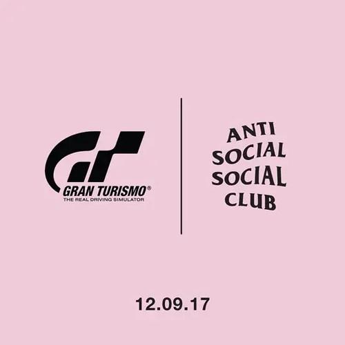 Anti Social Social Club × Gran Turismo コラボが12/9からリリース (アンチ ソーシャル ソーシャル クラブ グランツーリスモ)