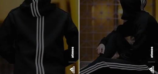 "atmos限定!atmos × adidas ""FULL ZIP HOODIE & JOGGER PANTS SET UP""が近日展開 (アトモス アディダス ""フル ジップ フーディー & ジョガー パンツ セットアップ"")"