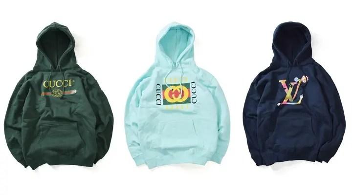 【ニューカラー】DEADLINEからイタリアの某有名ファッションブランドのロゴをサンプリングしたHOODIEがリリース開始 (デッドライン)