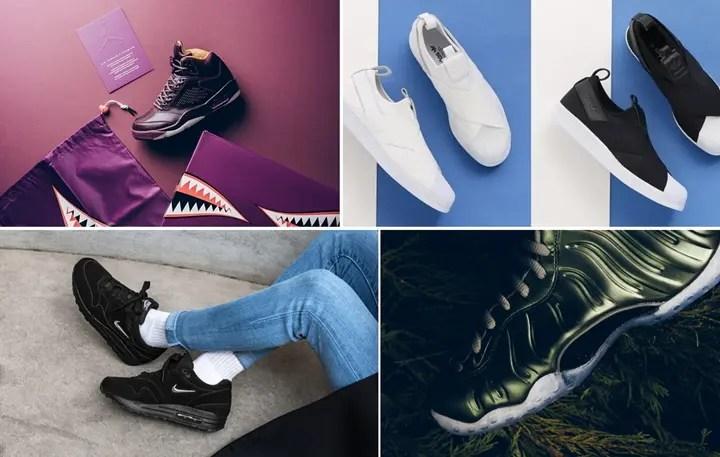 """【まとめ】12/14発売の厳選スニーカー!(NIKE AIR JORDAN 5 PREMIUM """"Bordeaux"""")(WMNS AIR FOAMPOSITE ONE """"Dark Stucco"""")(WMNS AIR MAX 1 PREMIUM SC Jewel """"Black/Bordeaux"""")(adidas Originals WMNS SUPERSTAR Slip-On 2018 S/S)他"""