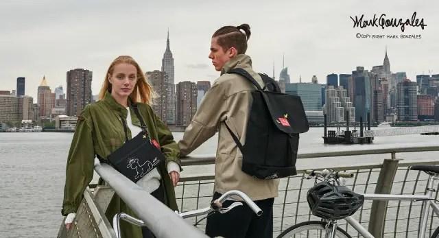 Manhattan Portage × Mark Gonzalesとのコラボコレクションが12/16発売 (マンハッタンポーテージ マーク ゴンザレス)
