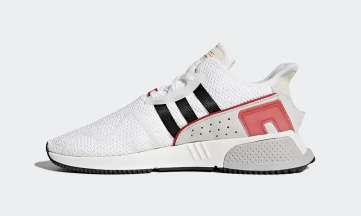 """12/21発売!adidas Originals EQT CUSHION ADV """"White/Core Black/Scarlet"""" (アディダス オリジナルス エキップメント クッション ADV """"ホワイト/ブラック/スカーレット"""") [AC8774]"""