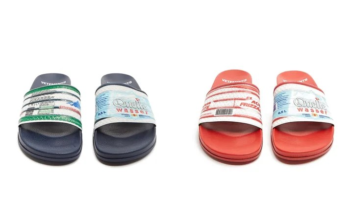 "VETEMENTS 2017-2018 S/S ""Multi print slides"" (ヴェトモン)"