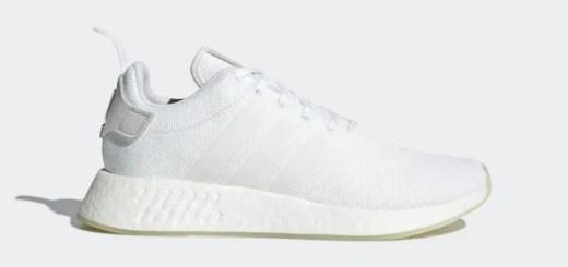 """2018/3/1発売!adidas Originals NMD_R2 """"White"""" (アディダス オリジナルス エヌ エム ディー """"ホワイト"""") [CQ2401]"""