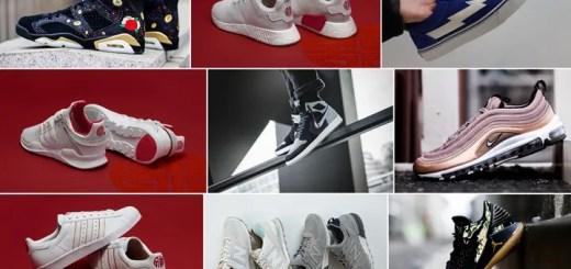 """【まとめ】2018/1/13発売の厳選スニーカー!(NIKE AIR JORDAN 6 RETRO """"Chinese New Year"""" """"CNY"""" 2018)(AIR JORDAN 1 FLYKNIT RETRO HIGH """"Shadow"""")(adidas Originals """"CHINESE NEW YEAR"""" 2018)(AIR MAX 97)他"""