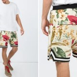 "The Webster 限定!FEAR OF GOD ""Floral Drop Crotch Shorts"" (フィア オブ ゴッド)"
