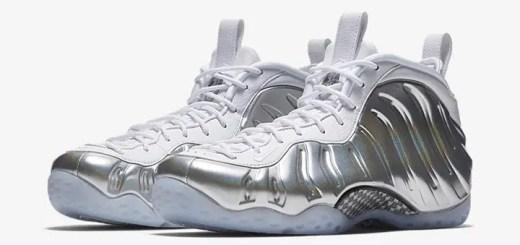 """【オフィシャルイメージ】1/25発売!ナイキ ウィメンズ エア フォームポジット ワン """"シルバー/ホワイト"""" (NIKE WMNS AIR FOAMPOSITE ONE """"Silver/White"""") [AA3963-100]"""